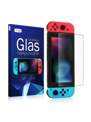 Nintendo Switch Film - Younik Nintendo Switch Protective Film 0.15 mm / 9 H Schott German Made-in Tempered Tempered Glass Screen Protector Film