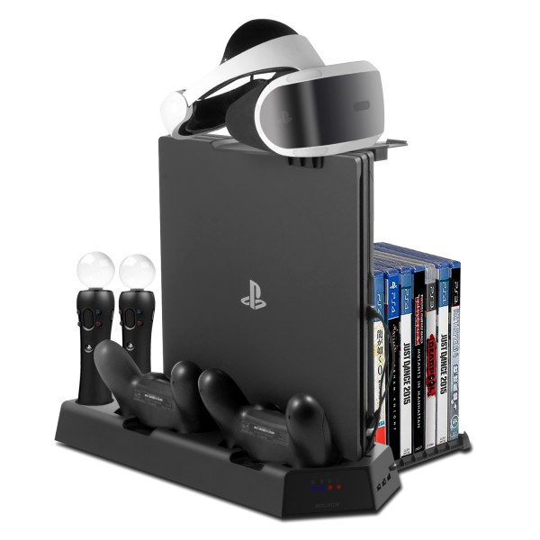 All-in-One PS VR Stand – Younik Vertical Stand Cooling fan